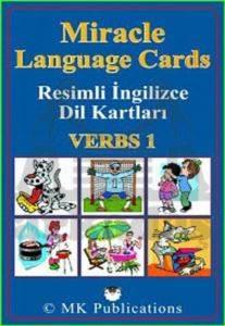 Miracle Language Cards - Verbs 1 (Resimli İngilizce Kartları)