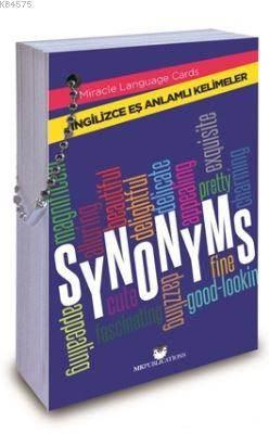 Synonyms - İngilizce Eş Anlamlı Kelimeler