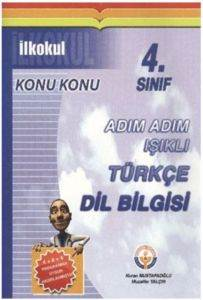 Adım Adım Işıklı Türkçe Dil Bilgisi 4