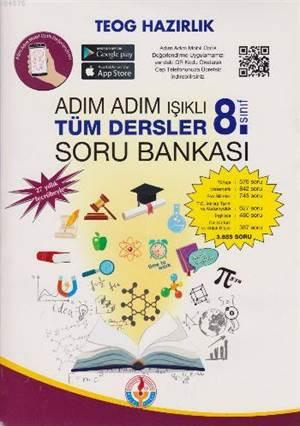 Adım Adım Işıklı 8.Sınıf Tüm Dersler Soru Bankası (2017)