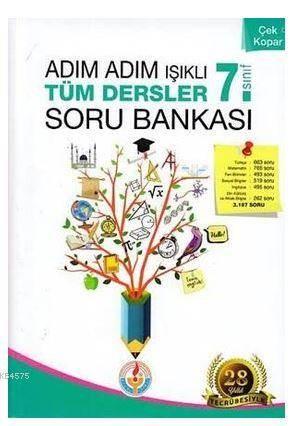 Adım Adım Işıklı Tüm Dersler Soru Bankası 7.Sınıf