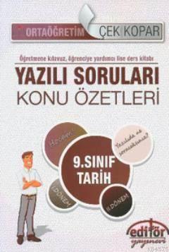 9. Sınıf Tarih <br/>Dersi Konu Öz ...