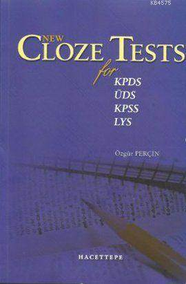 New Cloze; Tests For KPDS, ÜDS, KPSS, LYS