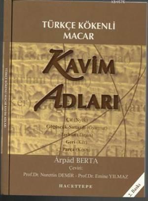 Türkçe Kökenli Macar Kavim Adları