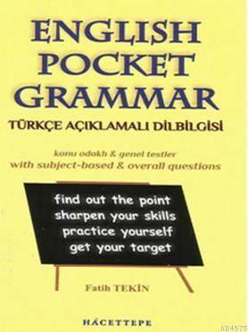 English Pocket Grammar - Türkçe Açıklamalı Dilbilgisi
