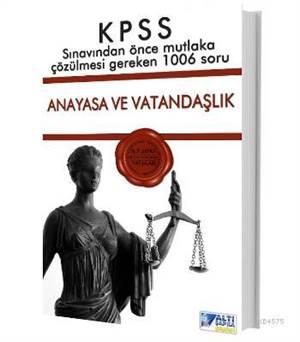 Kpss 2014 Sinavdan Önce Anayasa Ve Vatandaşlık 1006 Soru
