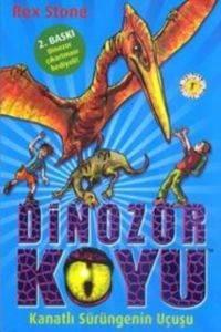 Dinozor Koyu 4-Kanatlı Sürüngenin Uçuşu