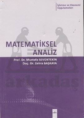 Matematiksel Analiz İşletme ve Ekonomi Uyg.