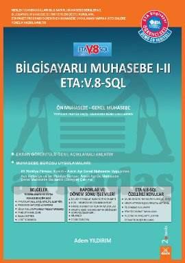 Bilgisayarlı Muhasebe ETA:V-8-SQL