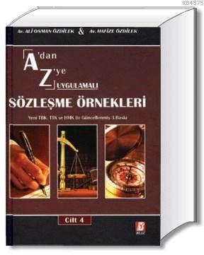 A'dan Z'ye Sözleşme Örnekleri