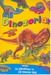 Dinozorlar 36 Çıkartma ve 60 Dinozor Türü
