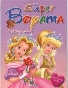 Süper Boyama Prensesler