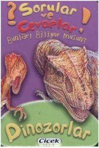 Sorular ve Cevaplar Dizisi 4 Dinozorlar (Kart)