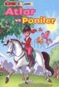 Süper Boyama Atlar Ve Poniler-1