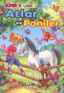 Süper Boyama Atlar Ve Poniler-2