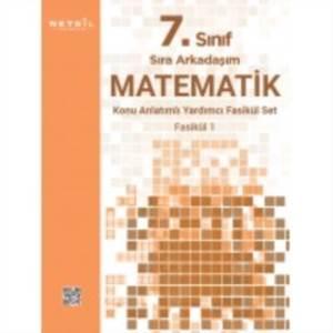 7.Sınıf Sıra Arkadaşım Matematik Konu Özetli Fasikül Set