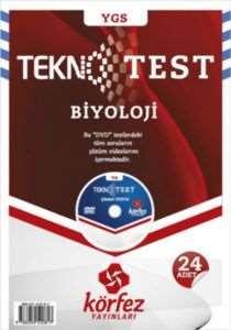 Körfez YGS Biyoloji Tekno Poşet Test Çözüm (DVD'li)