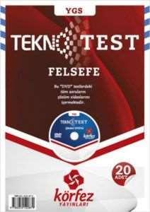 Körfez YGS Felsefe Tekno Poşet Test Çözüm (DVD'li)