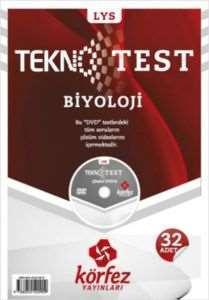 Körfez LYS Biyoloji Tekno Poşet Test Çözüm (DVD'li)