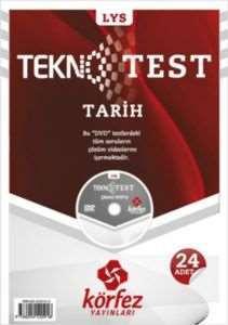 Körfez LYS Tarih Tekno Poşet Test Çözüm (DVD'li)
