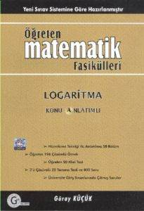 Öğreten Matematik Fasikülleri Logaritma Konu Anlatımlı