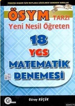 Ygs Ösym Tarzı 18 Matematik Denemesi