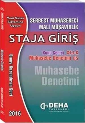 SMMM Staja Giriş Muhasebe Denetimi; Konu Serisi 05