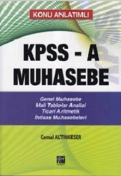Kpss-A Muhasebe Konu Analtimli