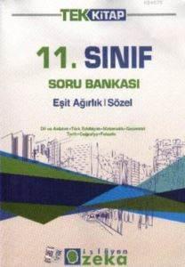 11.Sınıf Tek Kitap Ea-Sözel -Sb-