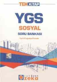 İşleyen Zeka YGS Sosyal Soru Bankası Tek Kitap