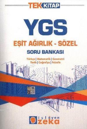 Ygs Tek Kitap Eşit Ağırlık Sözel Soru Bankası