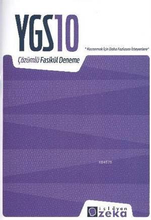 YGS 10 Çözümlü Fasikül Deneme