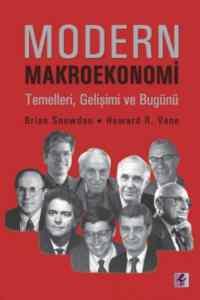 Modern Makroekonomi Temelleri Gelişimi Ve Bugünü