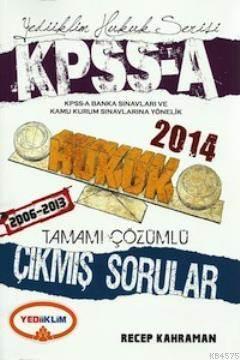 KPSS A Hukuk Tamamı Çözümlü Çıkmış Sorular