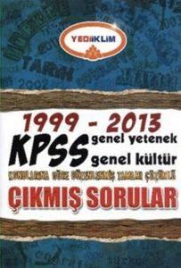 Yediiklim 1999-2013 KPSS Genel Yetenek Genel Kültür Çıkmış Sorular