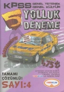 Yediiklim KPSS Genel Yetenek Genel Kültür Yolluk Deneme 4 2012