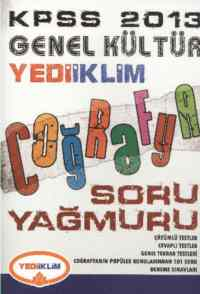 KPSS Genel Kültür Coğrafya Soru Yağmuru 2013