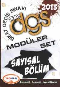 Yediiklim %100 DGS Modüler Set (2013)