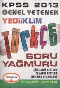 Yediiklim KPSS Genel Yetenek Türkçe Soru Yağmuru (2013)