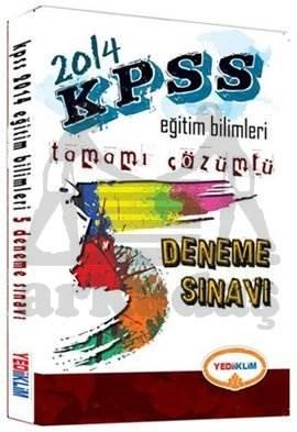 Yediiklim KPSS Eğitim Bilimleri ÖABT 5 Deneme Sınavı
