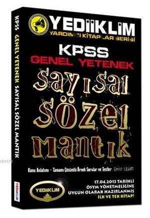 Kpss Genel Yet. Sözel-Sayısal Mantık