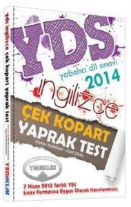 Yediiklim YDS İngilizce Çek Kopart Yaprak Test 2014