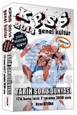 Yediiklim KPSS Genel Kültür Tarih Soru Dünyası 2014