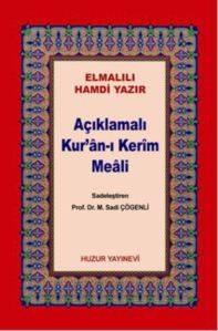 Açıklamalı Kur'an-ı Kerim Meali Cep Boy Karton Kapak