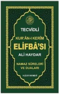 Tecvidli Kur'an-ı Kerim Elifba'sı (Kod: 053)