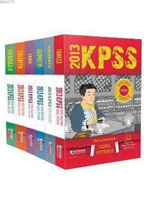 KPSS Genel Yetenek-Genel Kültür Konu Anlatımlı Modüler Set