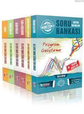 KPSS Eğitim Bilimleri Tamamı Çözümlü Modüler Soru Bankası