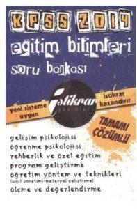 İstikrar Kpss Eğitim Bilimleri Tamamı Çözümlü Soru Bankası 2014