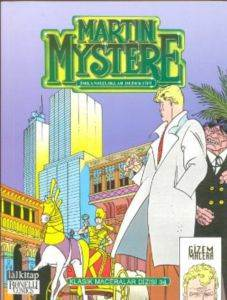 Martin Mystere KMD-34 Yeni Güneş Şehri