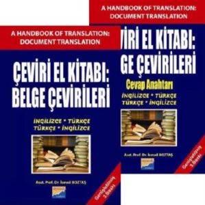 Çeviri El Kitabı Belge Çevirileri (İngilizce-Türkçe,Türkçe-İngilizce)